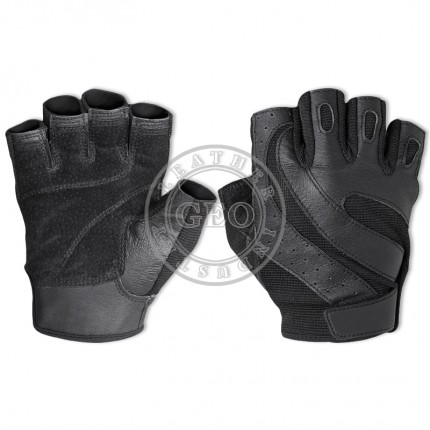 Genuine Goat Leather Cycling Gloves