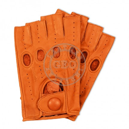 Half Fingers Real Leather Cycle Gloves