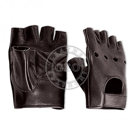 Full Leather Cycling Gloves for Men