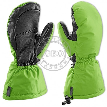 High Quality Snowboard Leather Ski Mitts