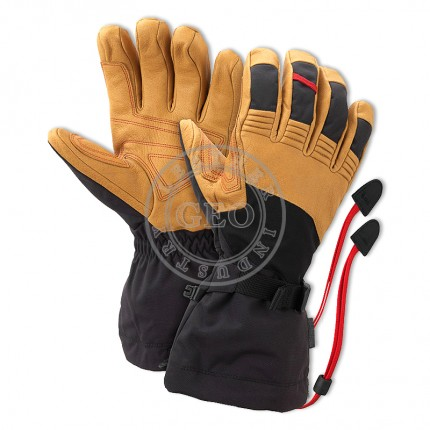 Leather Custom Ski Gloves