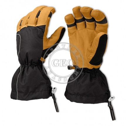 Custom Leather Snowboard Ski Gloves