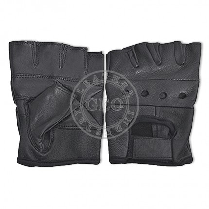 Weight Lifting Leather Gloves for Gents
