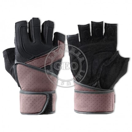 Wrist Wrap Fitness Power Lifting Sports Gloves