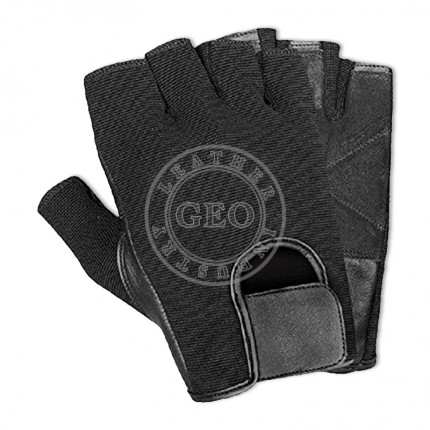 Sports Gym Athletics / Cheap Price Inexpensive / Leather Weight Lifting Gloves