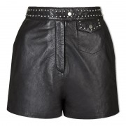 Ladies Chic Leather Shorts