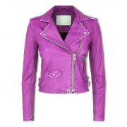 Women Chic Leather Jackets